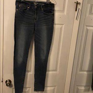 Levi modern skinny jeans